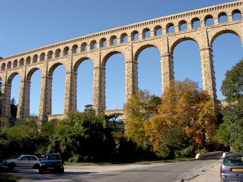 Acueducto romano en Francia