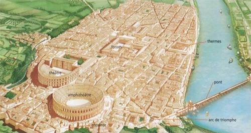 Arles, siglo II de nuestra era