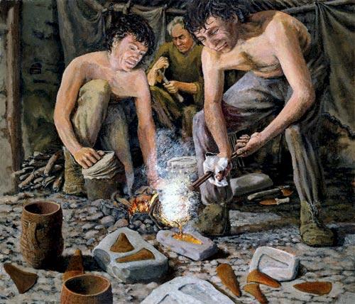 Herramientas Edad del Bronce