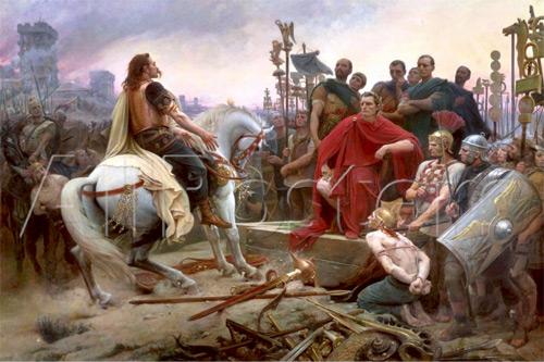 Vercingetorix Julio Cesar - Historia de Francia